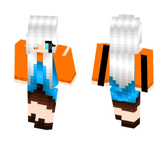 UnderSwap Girl Human Gaster - Girl Minecraft Skins - image 1