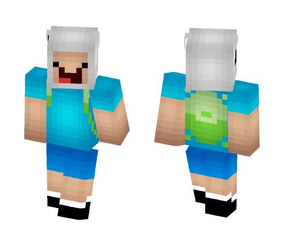 Download Finn The Human (Adventure Time) Minecraft Skin
