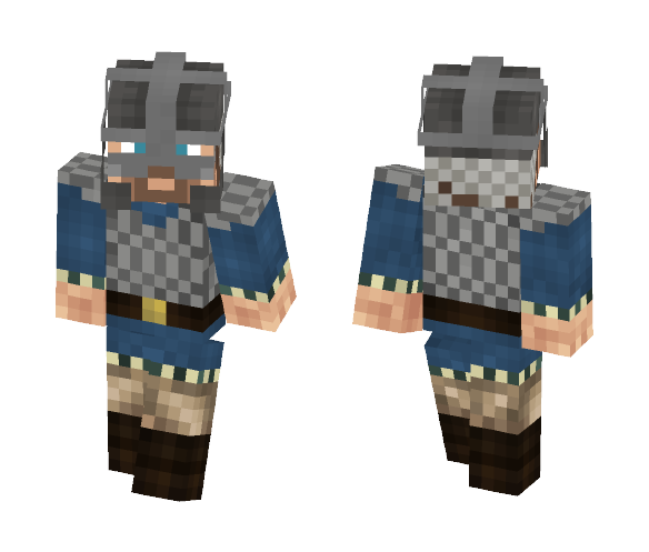 Download Viking 3D Armor Minecraft Skin For Free
