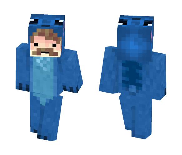 STICH ONZIE DAD SKIN! - Male Minecraft Skins - image 1