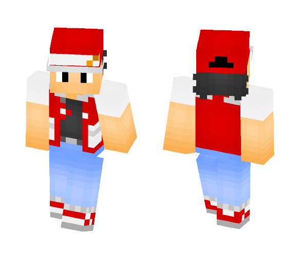 Download Red From Pokemon R B Y Minecraft Skin For Free