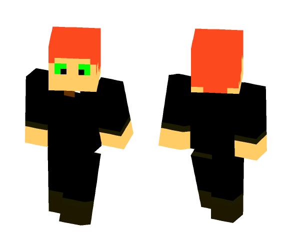 man in black - Male Minecraft Skins - image 1