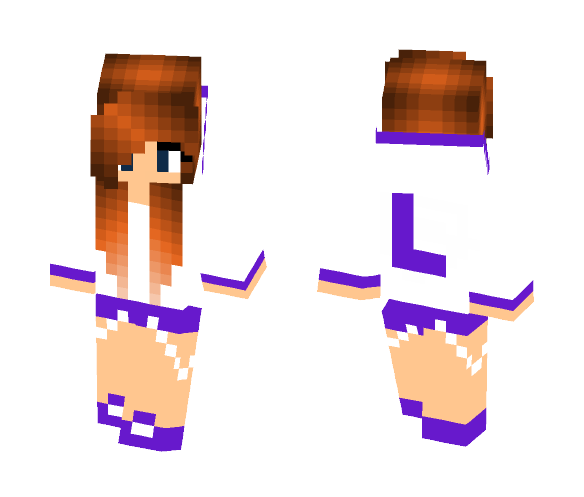 L for Lilith - Female Minecraft Skins - image 1