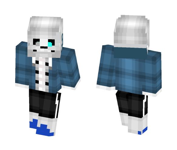 Skin #2 (Undertale) Sans Pacifist - Male Minecraft Skins - image 1