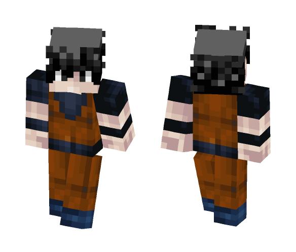 Goku Dbz - Male Minecraft Skins - image 1