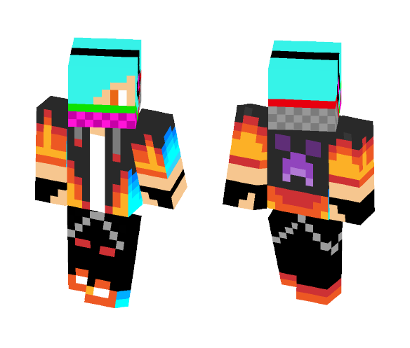 Download Swagyorange Minecraft Skin For Free