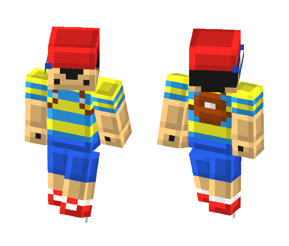 Download [Earthbound] Ness Minecraft Skin for Free