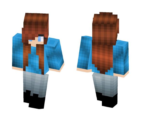 ♥~Kawaii~ Autum Girl~♥ - Kawaii Minecraft Skins - image 1