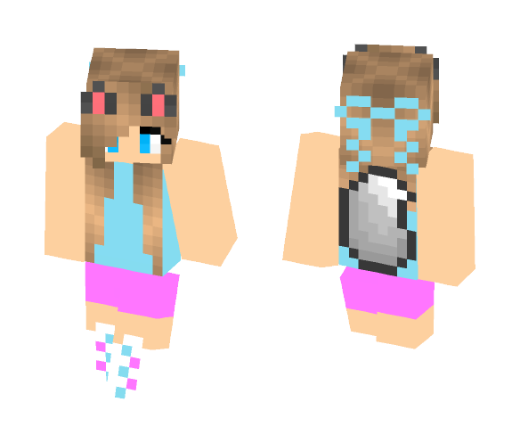 Download Cute Wolf Girl Minecraft Skin For Free Superminecraftskins