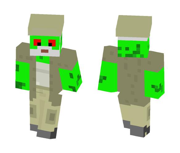 Frog Dale Horvath - Male Minecraft Skins - image 1