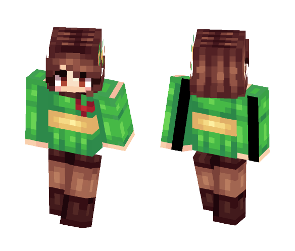 Download –«Chara- UnderTale»– Minecraft Skin for Free