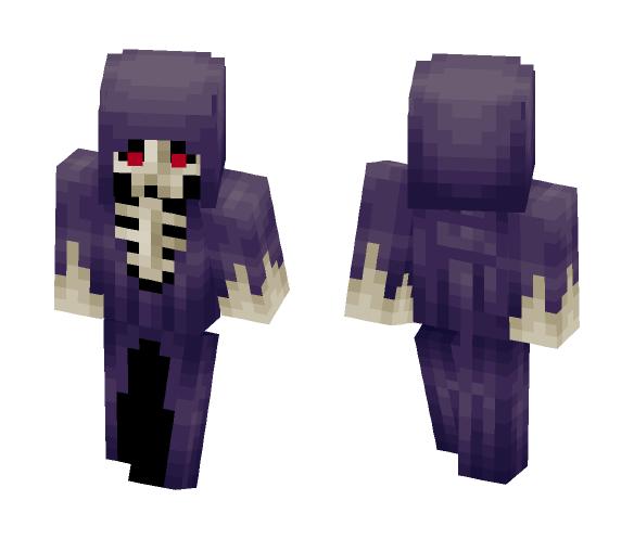 Get purple dress skeleton Minecraft Skin for Free ...  Minecraft Cute Skeleton