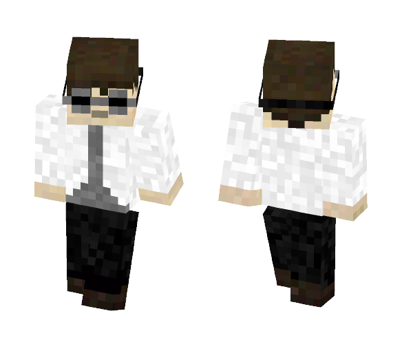 Labcoat man with goggles - Male Minecraft Skins - image 1
