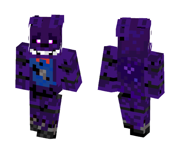 Download Fnaf The Sliver Eyes Theodore Minecraft Skin For Free