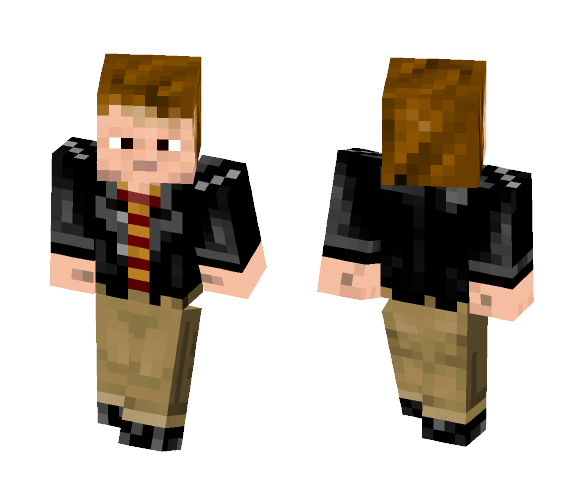 Ron Weasley | Deathly Hallows - Male Minecraft Skins - image 1
