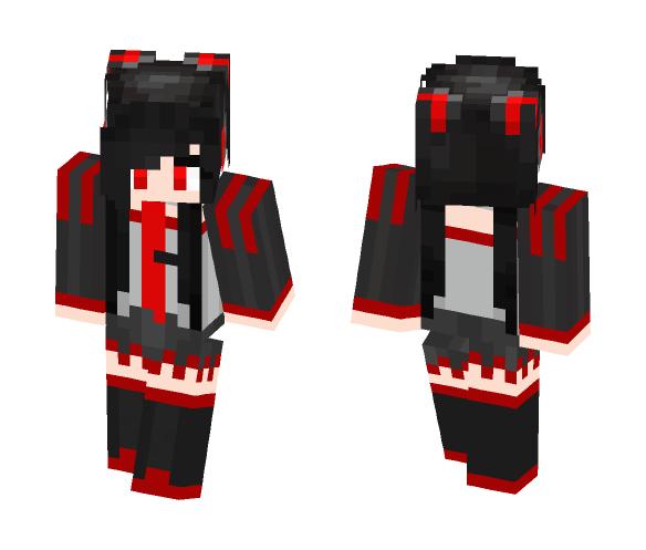 Zatsune Miku - Female Minecraft Skins - image 1