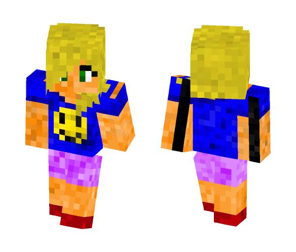 Smile girl - Girl Minecraft Skins - image 1