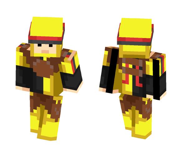 Download Hufflepuff Modern Quidditch Gear Minecraft Skin For Free