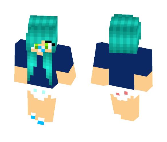 download cute baby girl skin 4 minecraft skin for free