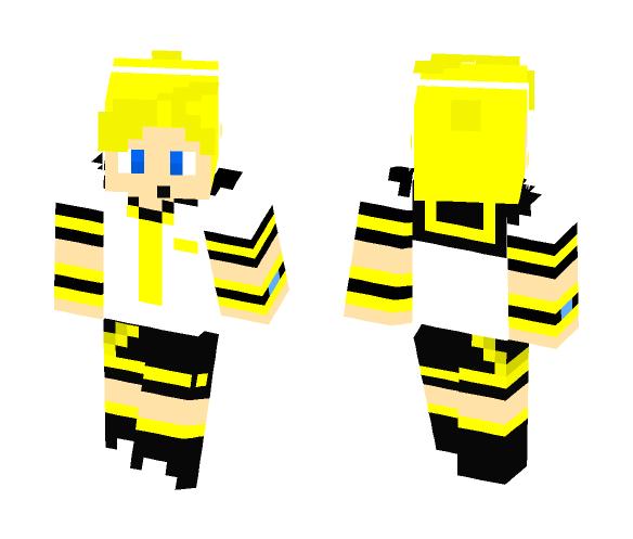 Len Kagamine - Male Minecraft Skins - image 1