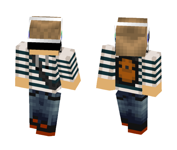 Foxtail_gaming 2.1 - Male Minecraft Skins - image 1