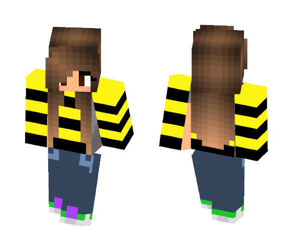 Straub and Bee - Interchangeable Minecraft Skins - image 1