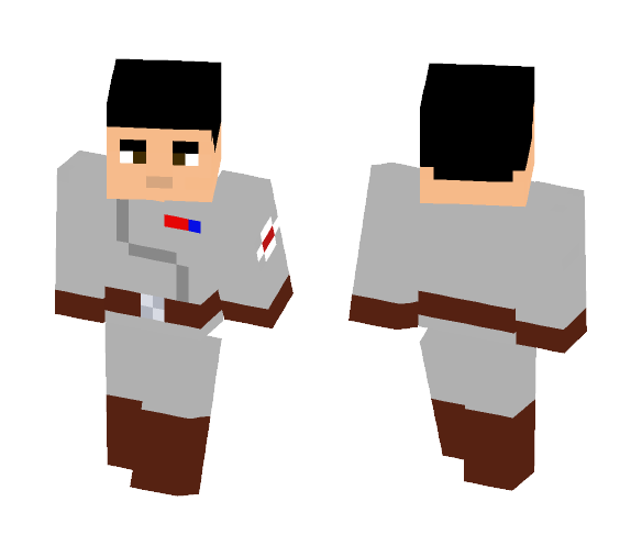 Clone Medical Officer - Male Minecraft Skins - image 1