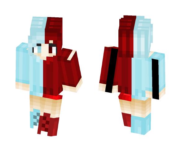 Aquamaroon - Female Minecraft Skins - image 1