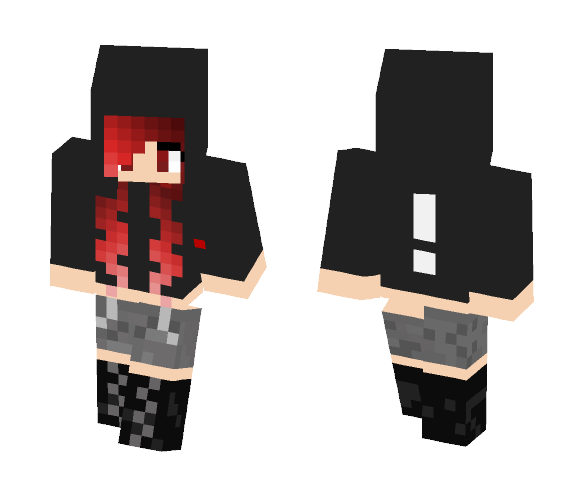 Download Black Hoodie Panic! At The Disco Minecraft Skin for Free