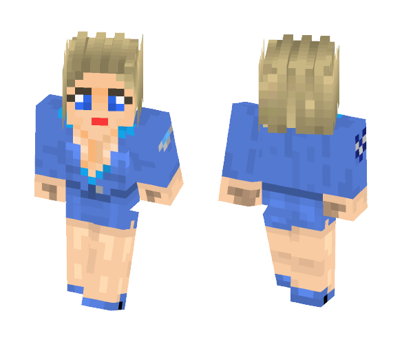 Lieutenant Eva Mckenna - Female Minecraft Skins - image 1