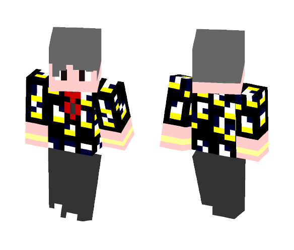 BTS Fire Suga Skin! P2 :D - Male Minecraft Skins - image 1