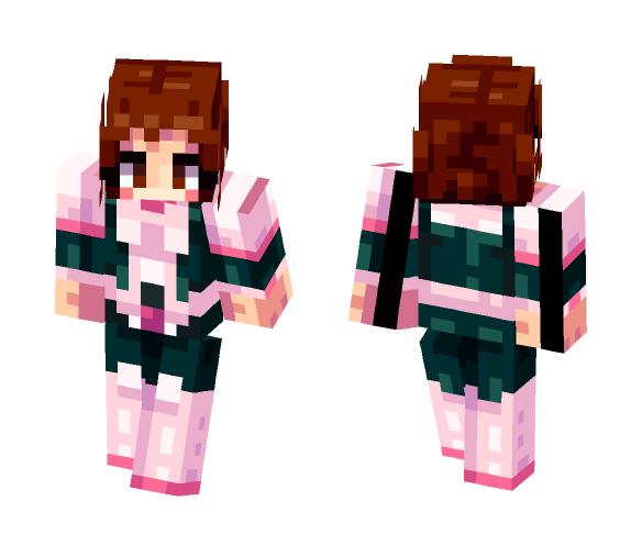 Download Ochako Uraraka Hero Academia Minecraft Skin For Free