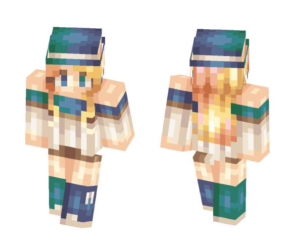 Mi birthday - Female Minecraft Skins - image 1