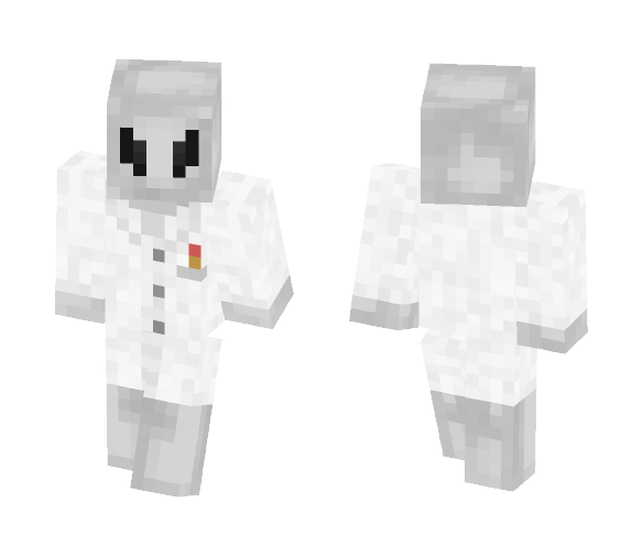 Alien In a Lab Coat - Other Minecraft Skins - image 1