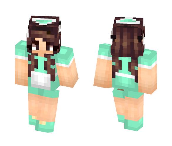 My Senpai Hannah!!!!!!!! ~Linx - Female Minecraft Skins - image 1