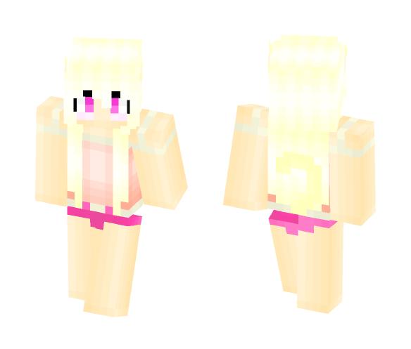 》Blonde Neko Girl ♡~♡《 - Girl Minecraft Skins - image 1
