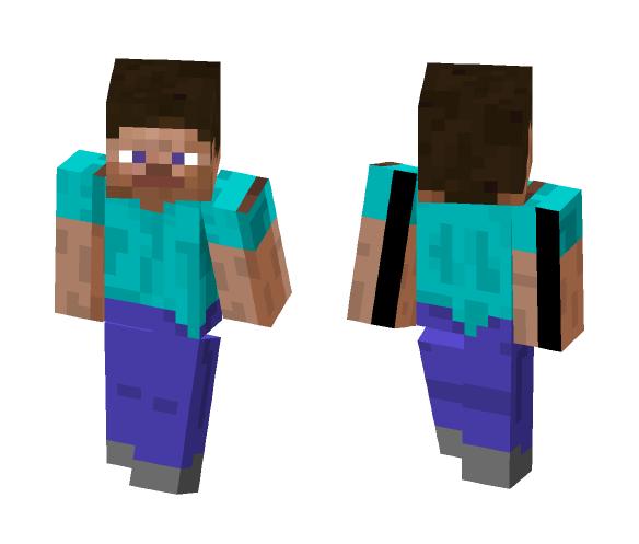 skinny steve - Male Minecraft Skins - image 1