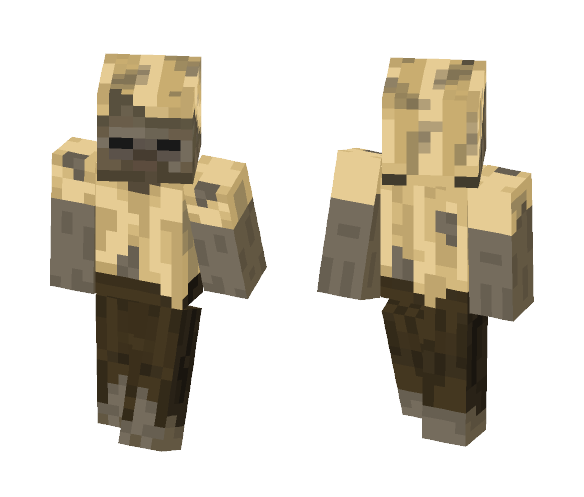 Download Husk Zombie Minecraft Skin for Free
