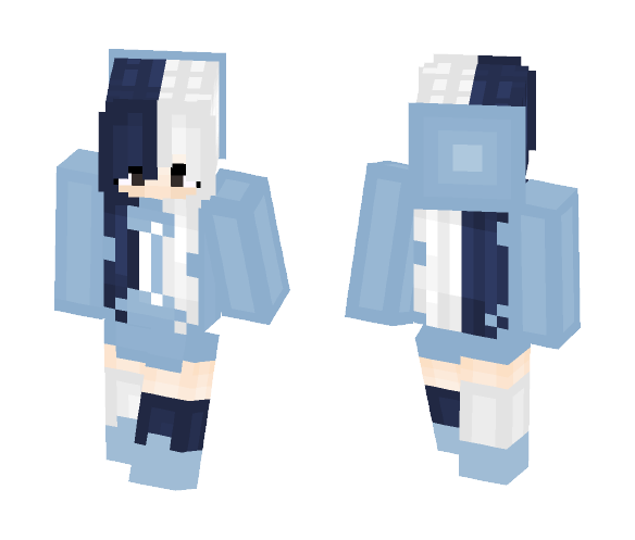 Download ~Girl On The Moon~ Minecraft Skin for Free