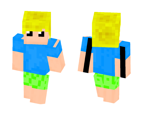 23 Green Pigs (OLD) - Male Minecraft Skins - image 1