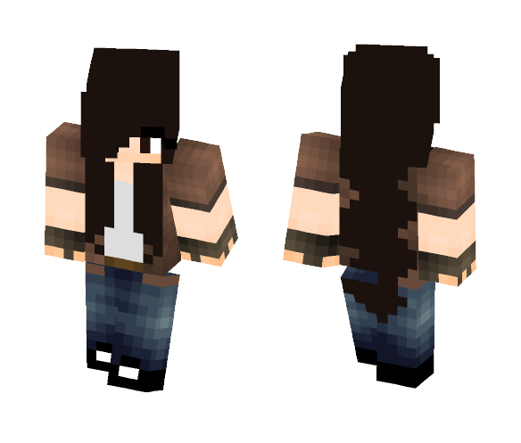 Maddy (ME) from the Crafting Dead - Female Minecraft Skins - image 1