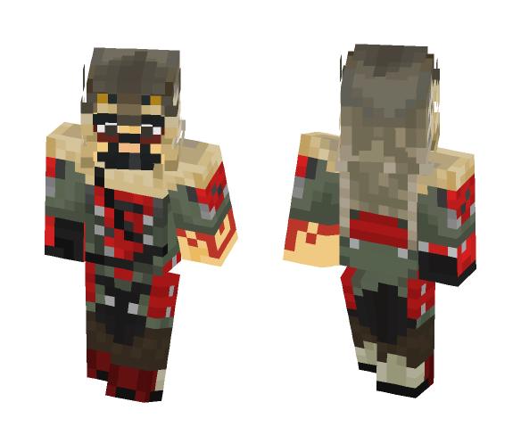 Download Hanzo, Lone Wolf   Overwatch Minecraft Skin for Free