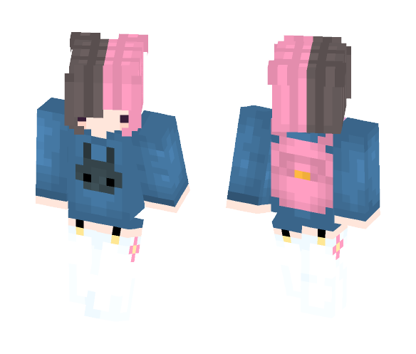Download Chibi Cute Girl S2 Minecraft Skin For Free
