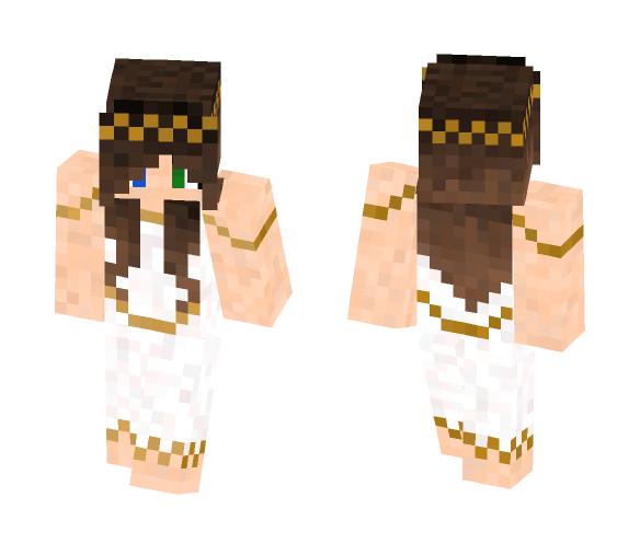 Greek Goddess --K - Female Minecraft Skins - image 1