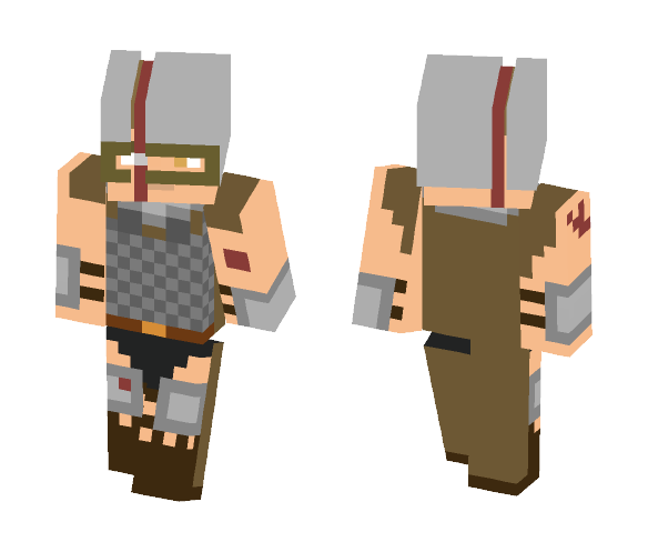 Wolfman Man At Arms - Male Minecraft Skins - image 1