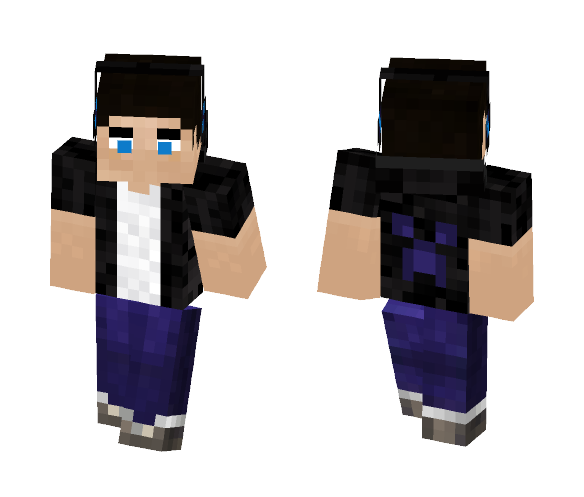 Download Reupload Dude With 3d Eyes Minecraft Skin For Free