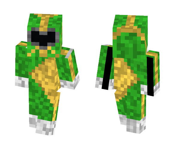 Invented Power Ranger Green - Male Minecraft Skins - image 1