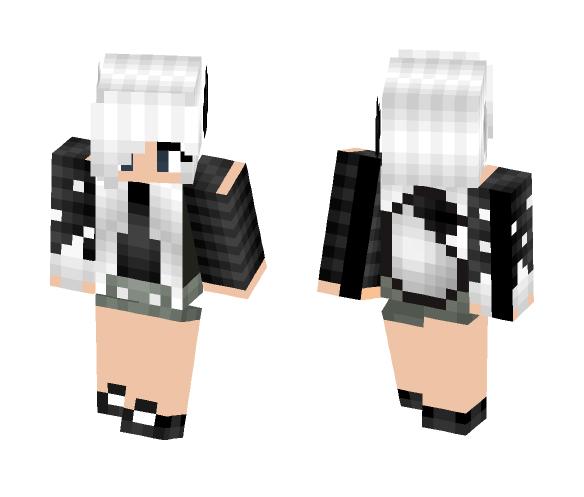 My oc - Kaden (wolf girl) - Female Minecraft Skins - image 1