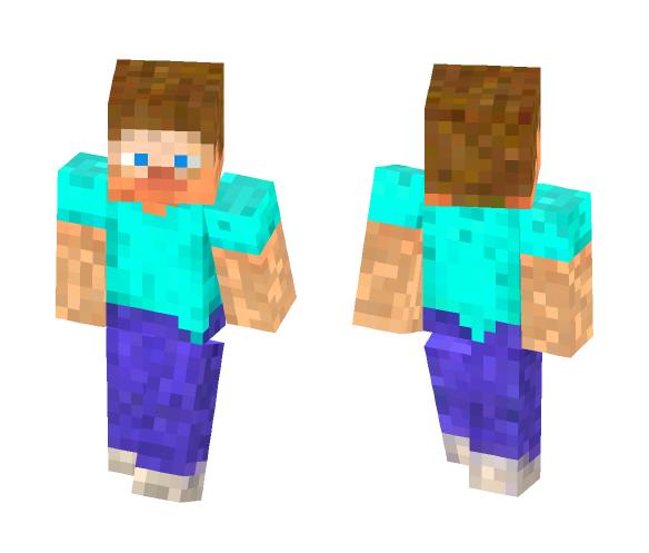 Skin filtered Steve - Male Minecraft Skins - image 1