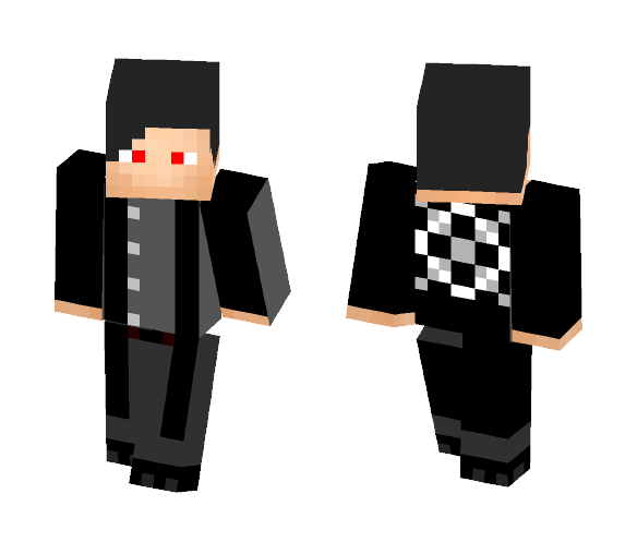 Jimmy Casket, Bounty Hunter - Male Minecraft Skins - image 1